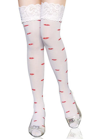 Kiss Me Thigh High Stockings