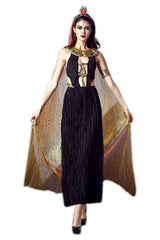 Atomic Black and Gold Goddess Costume