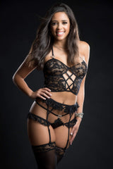 G World 4-Piece Cami Top Lingerie Set