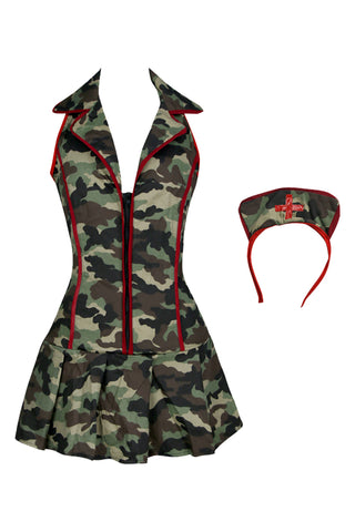 Atomic Army Triage Nurse Costume
