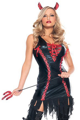 Black Devilicious Witch Costume