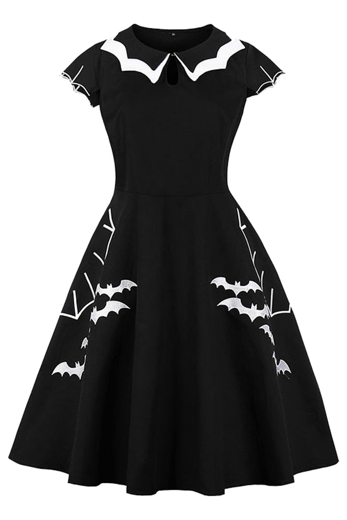 ab31949aa90 Atomic Black Bat Plus Size Gothic Dress
