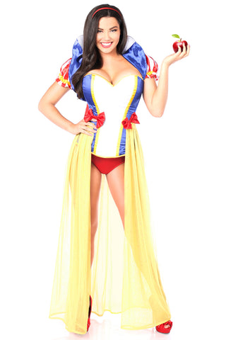 Snow White Inspired Four Piece Costume