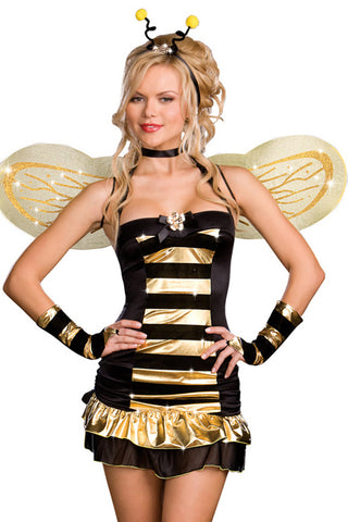 Gold and Black Bee Costume