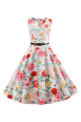 Always In Bloom Dress with Belt