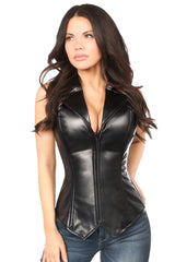 Top Drawer Premium Collared Steel Boned Corset