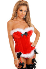 Red Mistletoe Sweetheart Costume