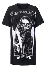 Cat In The Dark Loose T-Shirt
