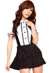 Black Senior School Girl Costume
