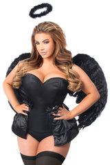 Angel of Darkness Corset Costume