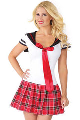 Alluring Anime School Girl Costume