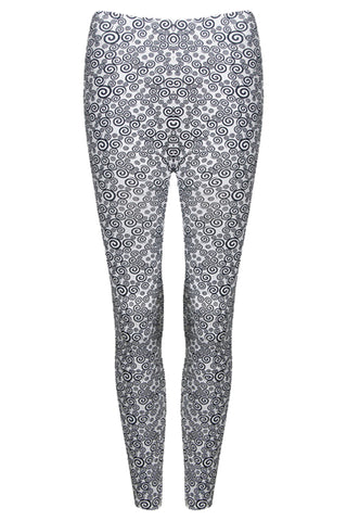 Spiral Print Leggings
