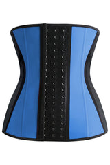 Blue Steel Boned Underbust Corset
