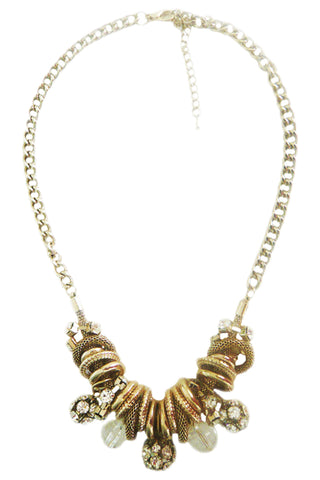 Gold Ringed Necklace