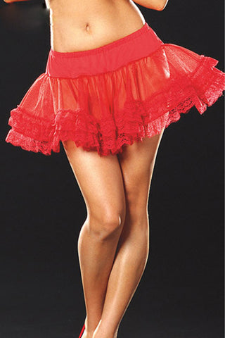 Atomic Petticoat with Lace Trim