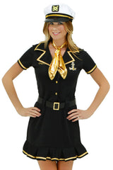 Black Cruise Ship Captain Costume