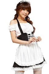 White French Maid Costume