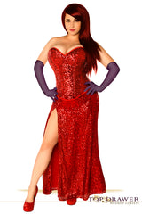 Top Drawer Premium Jessica Rabbit Inspired Costume