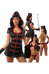 Black and Red Marina Militate Costume