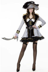 Deluxe Seductress Pirate Costume