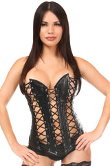 Top Drawer Premium Lace-Up Steel Boned Overbust Corset