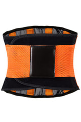 Orange Neoprene Body Shaper Belt