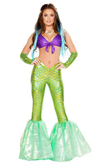 Green and Purple Mermaid Costume