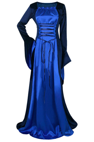 Royal Blue Renaissance Costume