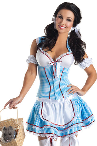 Blue Kansas Cutie Costume