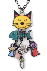 Charming Cat Necklace