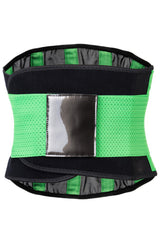 Green Neoprene Body Shaper Belt