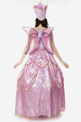 Pink Deluxe Fairy Godmother Costume