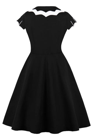 Black Bat Plus Size Gothic Dress