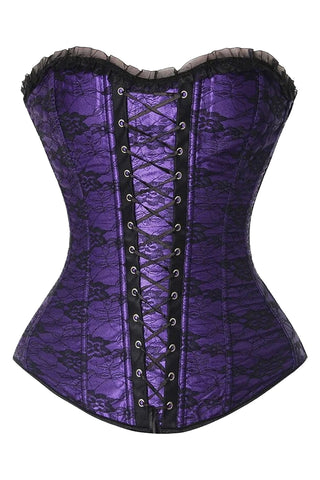 Atomic Royal Purple Lace Corset - Medium Only