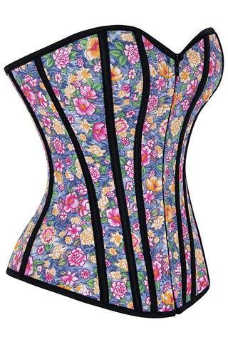 Floral Fantasy Overbust Corset