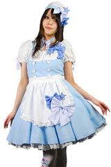 Blue Star Lolita Maid Costume
