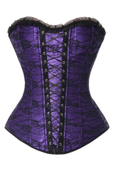 Atomic Royal Purple Lace Corset