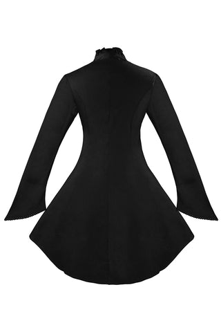 Gothic Vintage High Neck Jacket Top