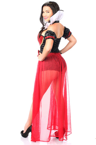 Red and Black Queen Costume