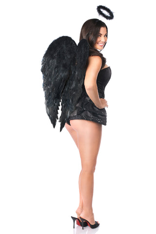 Midnight Angel Corset Costume