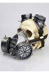 Silver Steampunk Gas Defense Mask