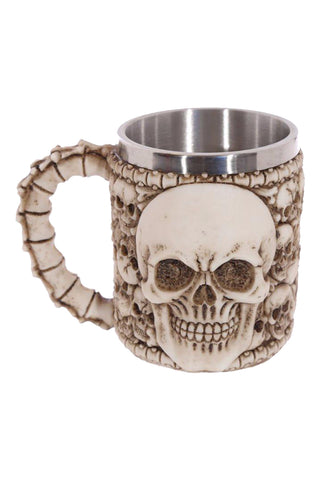 Atomic Skulls and Bones Coffee Mug