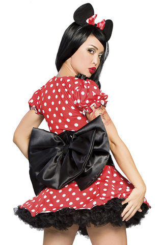 Geisha's Minnie Mouse Inspired Costume