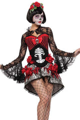 Deadly Damsel Sugar Skull Costume