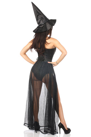Evil Witch Corset Costume