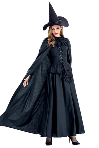 Black Witch Sorceress Costume
