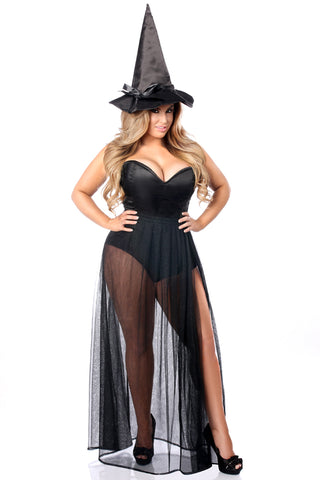 Lavish Premium Evil Witch Corset Costume