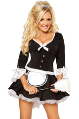 Classic Black and White Maid Costume