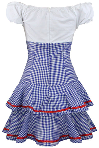 Blue and White Dorothy Inspired Costume