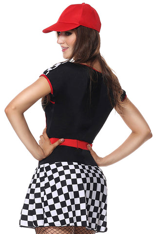 Checkered Built for Speed Costume
